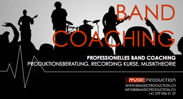 Band Coaching mit Stefan Baumann